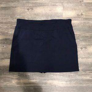 Women's Navy Blue skort